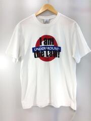 Tシャツ/L/コットン/ホワイト/18AW/I am the Law UNDDER GROUND