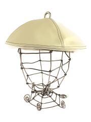 ベレー帽/--/フェイクレザー/CRM/無地