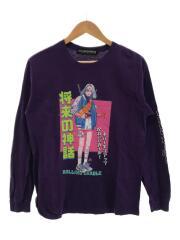長袖Tシャツ/M/コットン/PUP