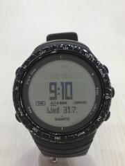 クォーツ腕時計/デジタル/ラバー/GRY