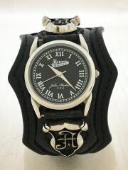 Artemis classic/アルテミスクラシック/クォーツ腕時計/アナログ/レザー/ブラック/BLACK