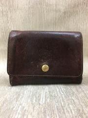 イルビゾンテ/2つ折り財布/レザー/ブラウン/