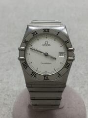 オメガ/コンステレーション/クォーツ腕時計/アナログ/ステンレス/ホワイト/54729675