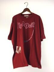 2019AW/New Dolls BIG T-shirts (RUBY RED)/Tシャツ/2/コットン/BRD