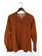2019SS/Nocollar Shirt/KS9SCS08/カットソー/36/--/ORN