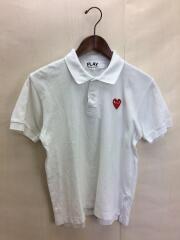 AZ-T006/ポロシャツ/M/コットン/WHT
