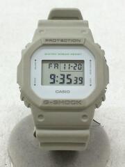 クォーツ腕時計・G-SHOCK/DW-5600-8JF/デジタル/BEG