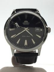 自動巻腕時計/アナログ/レザー/ブラック/ER24-C0-A