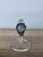 REGINO/クォーツ腕時計/アナログ/ステンレス/ホワイト/シルバー