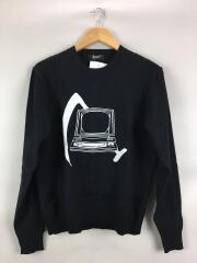 セーター(薄手)/2/コットン/ブラック