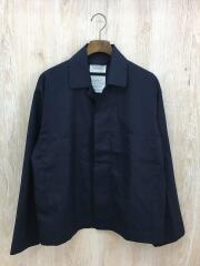 UTILITY SHIRT/wool tropical/長袖シャツ/O/ウール/NVY