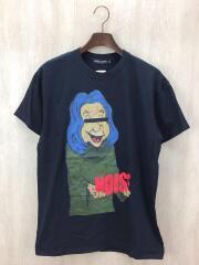Tシャツ/L/コットン/BLK