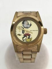 クォーツ腕時計/アナログ/×disney