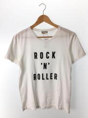 Tシャツ/S/コットン/WHT/無地