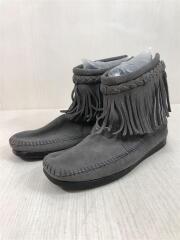 ブーツ/US7/GRY/スウェード