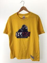 Tシャツ/L/コットン/YLW
