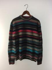 セーター(薄手)/--/ウール/マルチカラー