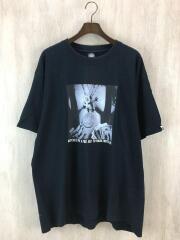 Tシャツ/プリント/サイズ XX/コットン/ブラック