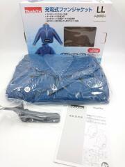 ジャケット/LL/ブルー/充電式ファンジャケット/FJ300DZLL/立ち襟モデル