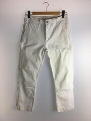 ボトム/M/コットン/ホワイト/左足裾に汚れあり
