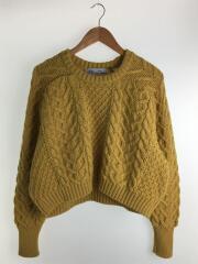 セーター(厚手)/クルーネック/ウール