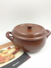 K+dep/鍋/ 21cm ブラウン KY-552/4515662705522
