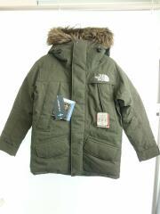 ダウンジャケット/S/ナイロン/カーキ/ND91807/タグ付/Antarctica Parka/アンタークティ