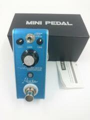 エフェクター/MINI PEDAL/ディストレーション/BYPASS/ブルー/LEF-601B