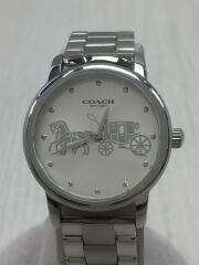 クォーツ腕時計/アナログ/防水性 3気圧(30m)/14502975/箱付/コマ有
