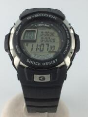腕時計/デジタル/ラバー/BLK/BLK/黒/G-7700/G-SHOCK