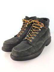 ブーツ/US8.5/GRY/8803/モックトゥ/ワークブーツ
