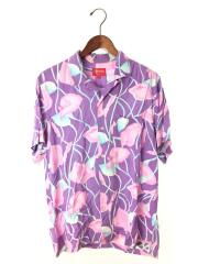 LILY RAYON SHIRT/半袖シャツ/M/--/PUP/総柄/オープンカラーシャツ/18SS