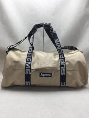 18SS/duffle bag/ボストンバッグ/ベージュ/全体的に汚れ有