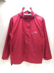 マウンテンパーカー/M/ポリエステル/RED/無地/NPW-2956