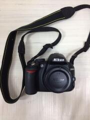 デジタル一眼カメラ D3100 200mmダブルズームキット [ブラック]/中古品
