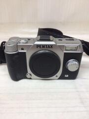 デジタル一眼カメラ PENTAX Q10 ダブルズームキット [シルバー]/中古品