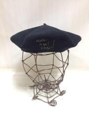 ベレー帽/--/BLK