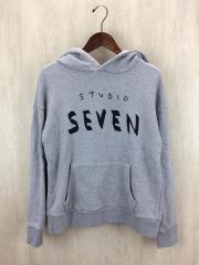 STUDIO SEVEN/スタジオセブン/パーカー/S/コットン/グレー/70863727