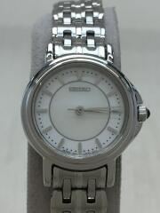 クォーツ腕時計/アナログ/ステンレス/シルバー/シルバー/1F21-OMOO/セイコー
