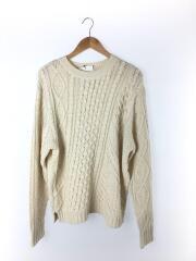セーター(厚手)/L/ポリエステル/ホワイト/CPZ2092405A0001/チャオパニック