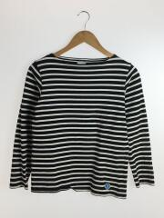 長袖Tシャツ//コットン/ブラック/ボーダー/オーシバルオーチバル