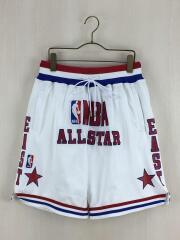 ショートパンツ/S/ホワイト/NBA ALL-STAR EAST/ジャストドン