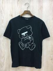 Tシャツ/M/コットン/ブラック/NEU BEAR TEE/アンダーカバー