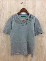 Tシャツ/M/コットン/GRY/ストリート