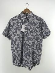 半袖シャツ/XS/コットン/NVY/カモフラ/19SS/Popover BD Shirt Floral Printe// ボタンダウン 総柄