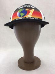 20SS WORLDWIDE MESH BACK 5-PANEL CAP/メッシュキャップ/FREE/ブラック
