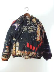 20ss/City Lights Puffy jacket/S/コットン/総柄