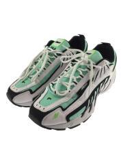 ローカットスニーカー/43/グリーン/ホワイト/コラボ/Wネーム/靴/2840MS0126F 299 31