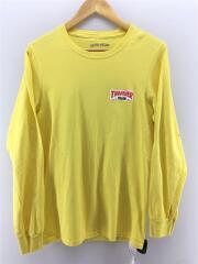 長袖Tシャツ/ロンT/コットン/黄色/