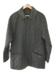 キルティングジャケット/40/ナイロン/BLK/ブラック